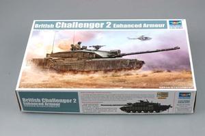 Challenger 2 (Челенджер-2) британский основной танк с доп. бронированием - 01522 Trumpeter 1:35