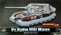 Panzer VIII Maus сверхтяжелый танк с полным интерьером - 09541 Trumpeter 1:35