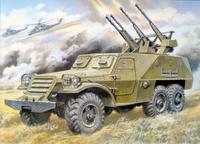 БТР-152Д противовоздушный вариант. Масштаб 1/35