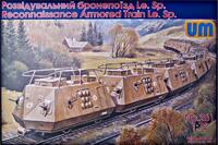Le.Sp. разведывательный бронепоезд. Масштаб 1/72