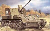 ЗСУ-37 обр. 1943 г. Масштаб 1/72
