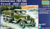 ГАЗ-ААА грузовик. UM 317 1:72