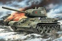 T-34-85 обр. 1944 г. Масштаб 1/72