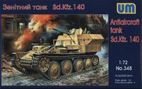 Sd.Kfz. 140 ЗСУ. Масштаб 1/72