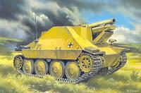 15 cm s.I.G 33/2 (Sf) auf Jagdpanzer 38(t) Hetzer. Масштаб 1/72