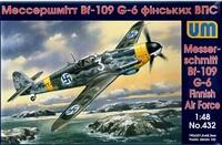 Messerschmitt Bf-109 G-6/R3 Финских ВВС. Масштаб 1/48