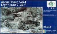 Т-26-1 советский легкий танк обр. 1939 - UMmt-218 UM Military Technics 1:72