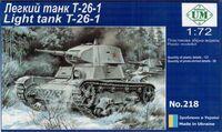 T-26-1 (1939) легкий танк. Ummt 218 1:72