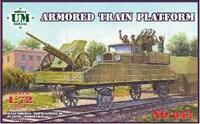 Контрольная платформа бронепоезда - UMmt-642 UM Military Technics 1:72