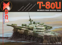 Т-80У ОБТ. XS35001 XAct 1:35