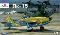 Як-15 истребитель. 7223 Amodel 1:72