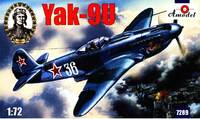 Як-9У истребитель. 7289 Amodel 1:72