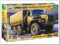 Урал-4320 армейский грузовик - 3654 Звезда 1:35