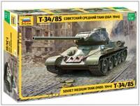 Т-34-85 средний танк - 3687 Звезда 1:35