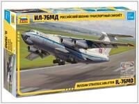 Ил-76МД военно-транспортный самолет - 7011 Звезда 1:144