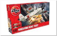 B5N2 «Накадзима» (Nakajima B5N2 Kate) палубный торпедоносец. A04058 Airfix 1:72