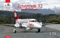Jetstream 32 бизнес-джет. 72262 Amodel 1:72