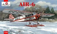 АИР-6 пассажирский на лыжах. 72309 Amodel 1:72
