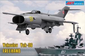 Як-36 палубный штурмовик - 7203 ART Model 1:72