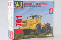 К-701 «Кировец» трактор. AVD6001 Автомобиль в деталях 1:43