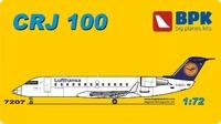 CRJ-100 региональный реактивный узкофюзеляжный лайнер. 7207 Big Plane Kit 1:72