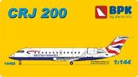 CRJ-200 региональный реактивный узкофюзеляжный лайнер. 14402 Big Plane Kit 1:144