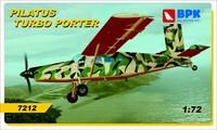 Pilatus Turbo Porter. 7212 Big Plane Kit 1:72