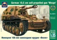 Немецкое 105-мм самоходное орудие «Веспе». Масштаб 1/35