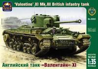 Английский танк «Валентайн» XI. Масштаб 1/35