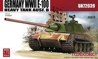 Е-100 Ausf. B проект тяжелого танка. UA72039 Modelcollect 1:72