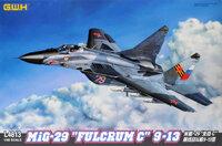 МиГ-29 (9-13) истребитель четвертого поколения - L4813 GWH 1:48