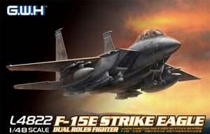 F-15E Strike Eagle двухместный истребитель-бомбардировщик - L4822 GWH 1:48