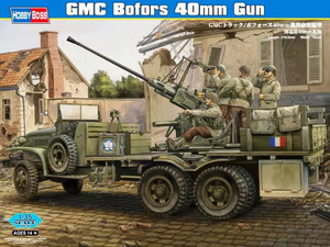 GMC CCKW 353 Bofors 40mm зенитка на грузовике - 82459 Hobby Boss 1-35