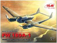 ФВ-189 А-1 «Рама» разведчик-корректировщик (Focke-Wulf Fw.189 A-1). 72291 ICM 1:72