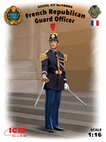 Офицер Республиканской гвардии Франции. 16004 ICM 1:16