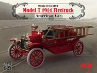 Model T 1914 Firetruck Американский пожарный автомобиль. 24004 ICM 1:24