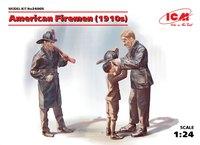 Американские пожарные (1910-е). 24005 ICM 1:24