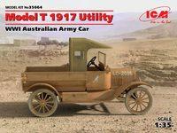 Model T 1917 Utility Армейский автомобиль Австралии. 35664 ICM 1:35