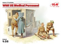 Медицинский персонал США (1918). 35694 ICM 1:35