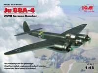 Ю-88 А-4 бомбардировщик (Junkers Ju.88A-4). 48233 ICM 1:48