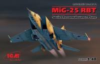 МиГ-25 РБТ самолет-разведчик. 48901 ICM 1:48