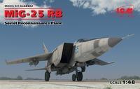 МиГ-25 РБ самолет-разведчик. 48902 ICM 1:48