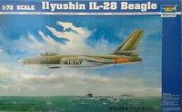 Ил-28 фронтовой бомбардировщик. 01604 Trumpeter 1:72