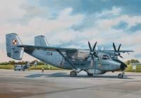 PZL M28 Skytruck Пассажирский самолет. ЕЕ14445 ВЭ 1:144