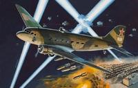 Ли-2НБ Ночной бомбардировщик. ЕЕ14433 ВЭ 1:144