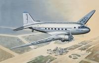 ПС-84 Пассажирский самолет. ЕЕ14431 ВЭ 1:144
