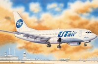 «Боинг-737-500» Авиалайнер АК «Ютэйр» (B735 UTair). ЕЕ14421 ВЭ 1:144