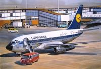 «Боинг-737-100» Авиалайнер АК «Люфтганза» (B731 Lufthansa). ЕЕ14415 ВЭ 1:144