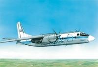 АН-24 Пассажирский самолет. ЕЕ28801 ВЭ 1/288