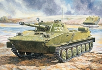 ПТ-76 Плавающий танк. ЕЕ35171 ВЭ 1:35